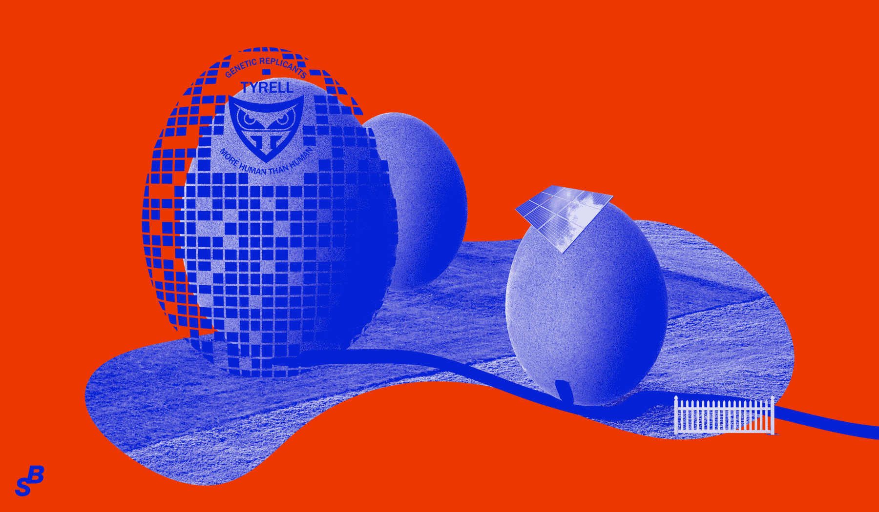 Startling Brands Future Trends, Biomimetic Architecture, Illustration by Mario Dzurila