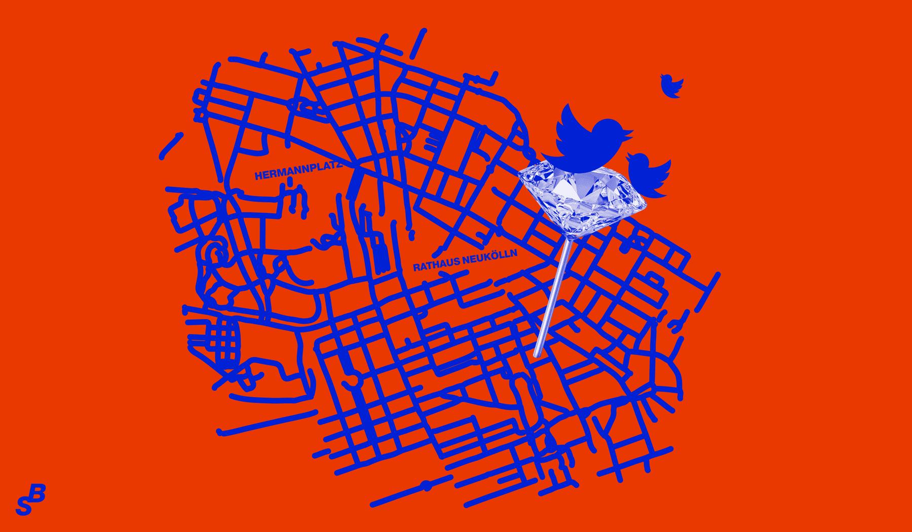 FUTURE TRENDS by Startling Brands, Gentrification Social Media, Illustration by Mario Dzurila